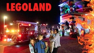 🌇💥LEGOLAND HOTEL  Fire Alarm Evacuation! LEGOLAND HOTEL & RESTAURANT TOUR!