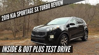 2019 Kia Sportage SX Turbo FULL REVIEW & DRIVE