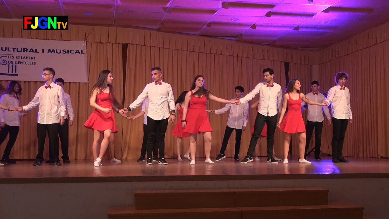 01. Stand by me / Greased lightning - Bailes Educacion Fisica 2018 IES Nules