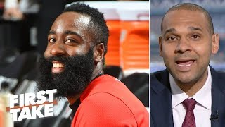 Harden and the Rockets should blow out Warriors in Game 6 without KD – Jared Dudley | First Take