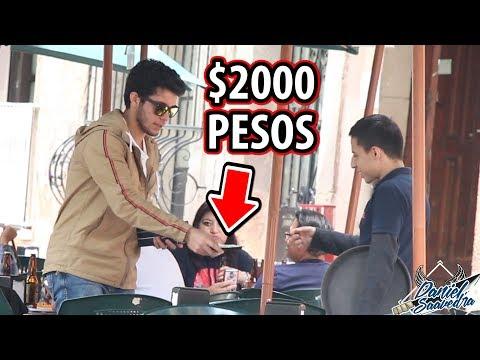 LE DÍ $2000 DE PROPINA Y REACCIONA ASÍ