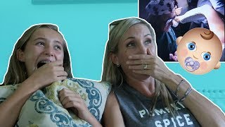 EVIE'S BIRTH VIDEO!! REACTION!
