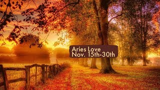 """Aries Love:  Nov. 15th-30th  """"New love, but what do they really want?"""""""