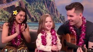 Moana's Auli'i Cravalho & 4-Year-Old Perform ADORABLE