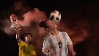 Juggling a football up 999 steps of mountain road