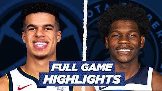 NUGGETS at TIMBERWOLVES FULL GAME HIGHLIGHTS | 2021 NBA Season