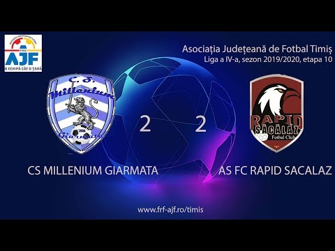 CS Milenium Giarmata - AS FC Rapid Sacalaz, etapa 10