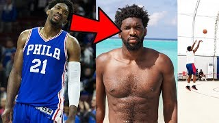 Joel Embiid LOST 25 lbs. To GET INTO MVP SHAPE! Simmons Shot Looks BETTER