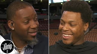 Tracy McGrady tells Kyle Lowry what he likes so much about his game | The Jump