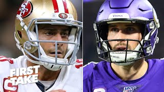 Jimmy Garoppolo or Kirk Cousins? Stephen A. & Max choose the QB they would rather have | First Take
