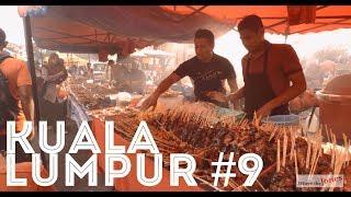 Kuala Lumpur 😋 Monday Night Food Market. Lots of Goodies 🍲🥘🌯