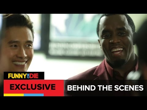 BTS Of 'Rush Hour 4: Face/Off 2' with Byung-Hun Lee and Sean Combs