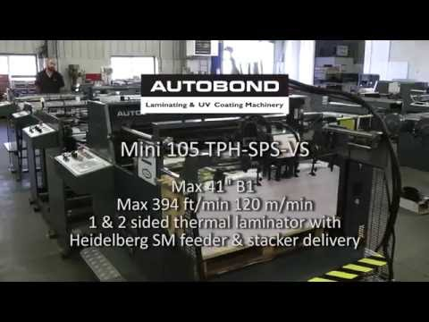 Autobond Mini 105 TPH-SPS-VS - on test for Israeli customer