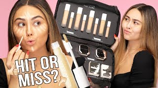 NEW Fenty Beauty Concealers + Setting Powder First Impressions Review & 8 Hour Wear Test!