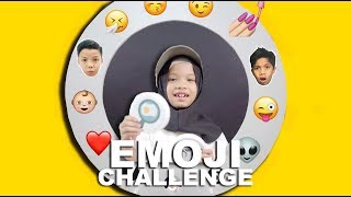 EMOJI CHALLENGE With Saleha Halilintar