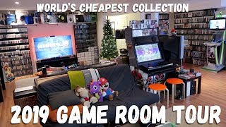 Game Room Tour 2019 - 5500+ Games & 100+ Systems