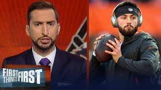 Nick Wright lays out expectations for Baker in year 2 with the Browns   NFL   FIRST THINGS FIRST