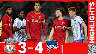 Highlights: Liverpool 3-4 Hertha BSC   Van Dijk & Gomez return to action!