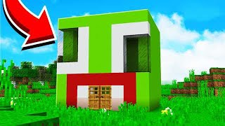 HOW TO MAKE AN UNSPEAKABLE HOUSE IN MINECRAFT!