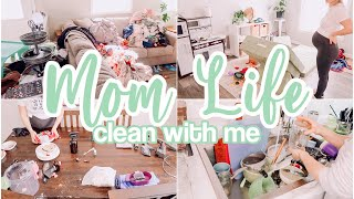 MOM LIFE CLEAN WITH ME 2021 // ALL DAY SPEED CLEANING MOTIVATION