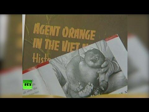 Американское химическое оружие еще долго будут помнить во Вьенаме и Ираке (18+)