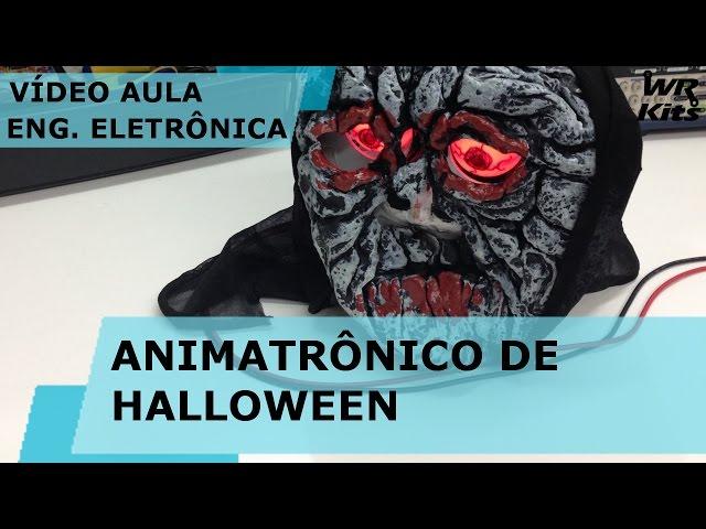 ANIMATRÔNICO DE HALLOWEEN | Vídeo Aula #141
