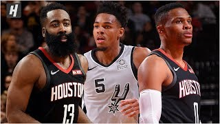 San Antonio Spurs vs Houston Rockets - Full Game Highlights | December 16 | 2019-20 NBA Season