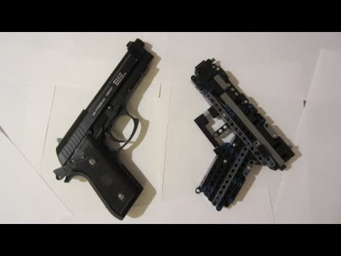 Instructions For The C 10 Lego Gun Videomoviles