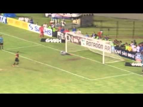 PE 2014 - Sport 1 (5) x (3) 0 Santa Cruz - Gol e Disputa de Pênaltis (Narração de Roberto Queiroz)
