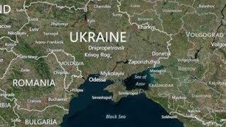 Крым на географических картах