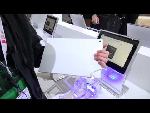 Sony Xperia Tablet Z Hands On - Deutsch - Smashpipe Tech