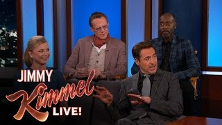 Robert Downey Jr. Has the Avengers