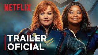 Esquadrão Trovão | Melissa McCarthy e Octavia Spencer | Trailer oficial | Netflix