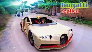 Chế tạo BUGATTI chiron phiên bản xe đạp | Homemade new generation Bugatti Chiron engine