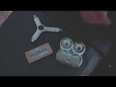 Video NOMAD SKATEBOARDS Roulement Abec 7 [x8]
