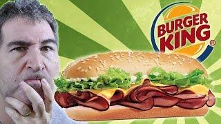 Burger King Yumbo Hot Ham & Cheese REVIEW