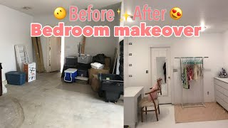 EXTREME BEDROOM MAKEOVER PART 1 / FULL ROOM TRANSFORMATION 2018 // ANNAH BEAUTY