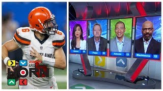 Should Baker Mayfield start for the Browns over Tyrod Taylor? | Around the Horn | ESPN