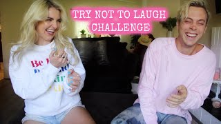 Try Not To Laugh Challenge With RIKER   Rydel Lynch
