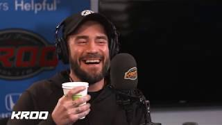 CM Punk Returns to Kevin in the Morning to Chat About WWE Backstage