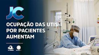 Aumento de ocupação das UTIs por pacientes de Covid-19, no Ceará