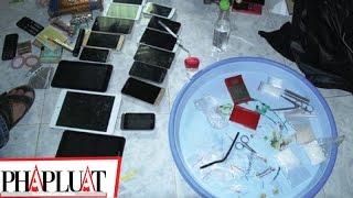 PLO - Bắt 4 người giấu ma túy trong phòng trọ ở Hâu Giang