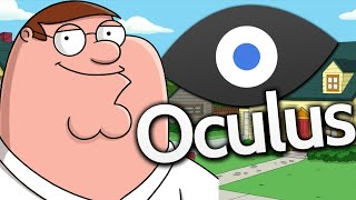 Oculus Rift - BE INSIDE FAMILY GUY! (Virtual Reality Games)
