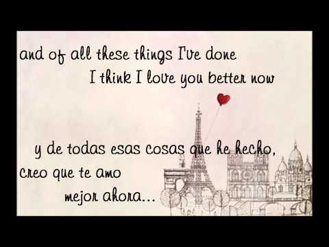 Ed Sheeran - Lego House (lyrics + sub español)
