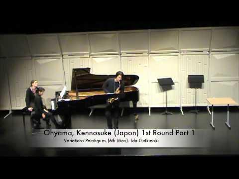 Ohyama, Kennosuke (Japon) 1st Round Part 1
