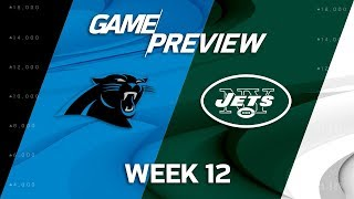 Carolina Panthers vs. New York Jets | NFL Week 12 Game Preview