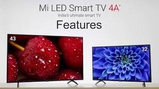 "Mi TV 4A 32"" 43"" Smart LED TV: Features"