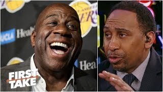 The Lakers would be better off with  Magic Johnson – Stephen A. | First Take