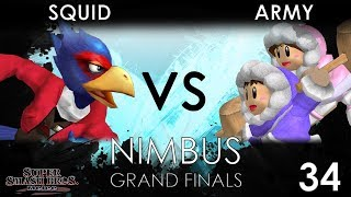 Nimbus #34 - TNC | ARMY (Ice Climbers) VS Squid (Falco) - SSBM Grand Finals