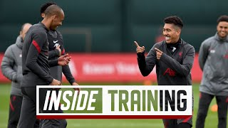 Inside Training: Rondos, shooting drills and mini-games | Presented by AXA